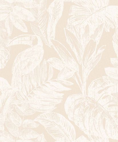 Vinyl Wallpaper Toucans Jungle beige white Myriad MY3401 online kaufen