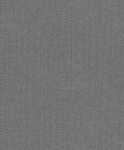 Non-Woven Wallpaper Textile Waves grey Glitter ON1102