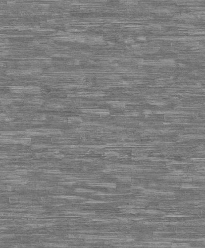 Non-Woven Wallpaper Wood Vintage grey Metallic ON1203