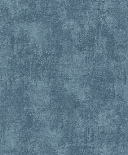 Non-Woven Wallpaper Plaster Vintage blue Metallic ON1302