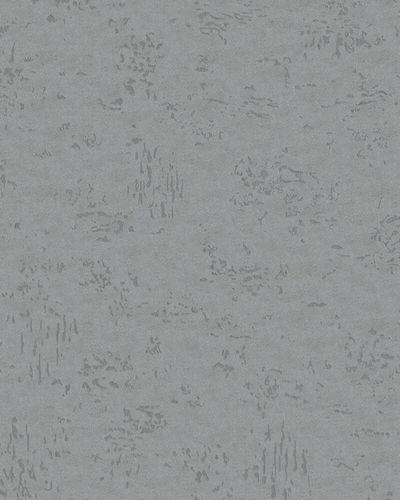 Non-Woven Wallpaper Plaster grey silver metallic 31639 online kaufen