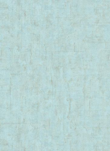 Wallpaper Guido Maria Kretschmer Tiles turquoise 10006-18