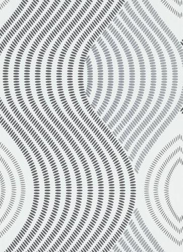 Wallpaper Guido Maria Kretschmer Waves 3D white 10045-10