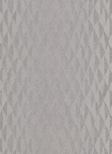 Wallpaper Guido Maria Kretschmer Feather silver 10049-37