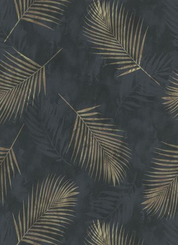 Wallpaper Guido Maria Kretschmer Tropics black 02579-40