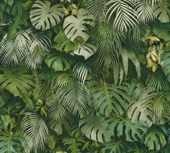 Non-Woven Jungle Leaves green 37280-2 online kaufen