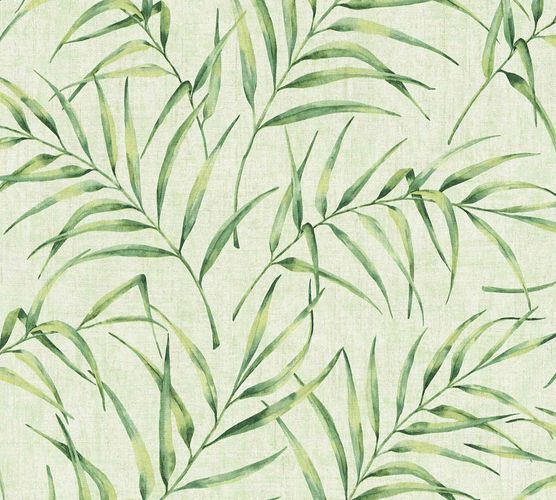 Non-Woven Fern Leaves Floral green 37335-3 online kaufen
