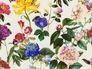 Non-Woven Wallpaper Jette Flowers cream green 37336-1  001