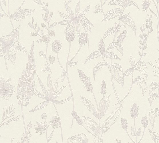 Non-Woven Wallpaper Jette Joop Leaves white pink 37363-2 online kaufen