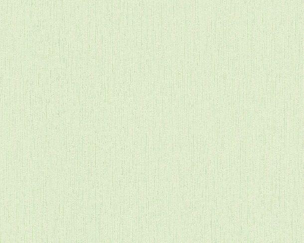 Vliestapete Uni Streifen Struktur hellgrün 2885-09