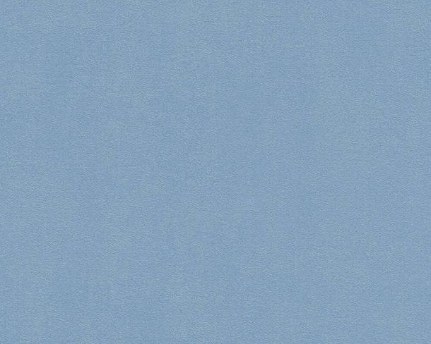 Vliestapete Uni-Design Struktur blau 37262-6