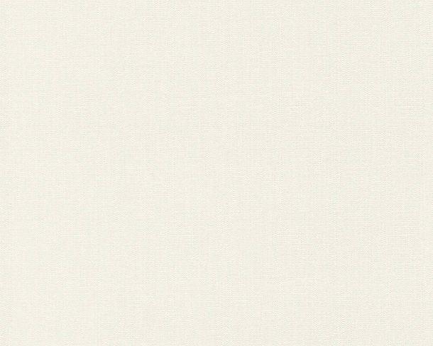 Non-Woven Wallpaper Structure Plain cream white 37268-4 online kaufen