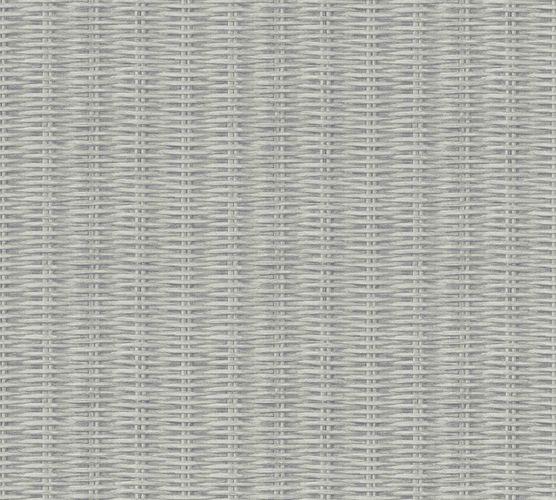 Non-woven wallpaper rattan grey cream 37393-2 online kaufen