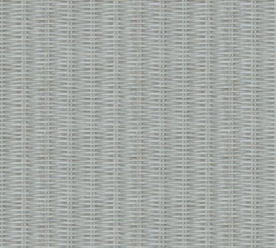 Non-woven wallpaper rattan blue beige 37393-3 online kaufen