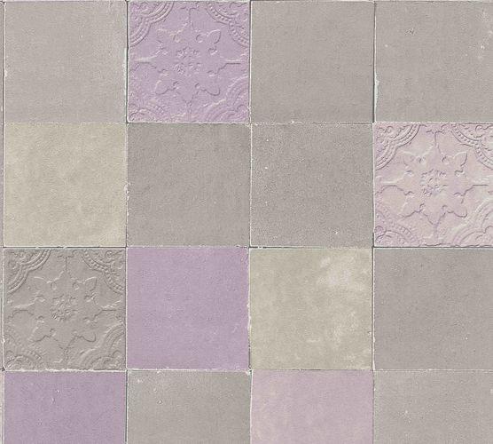 Vliestapete Fliesenspiegel beige taupe rosa 37406-2 online kaufen