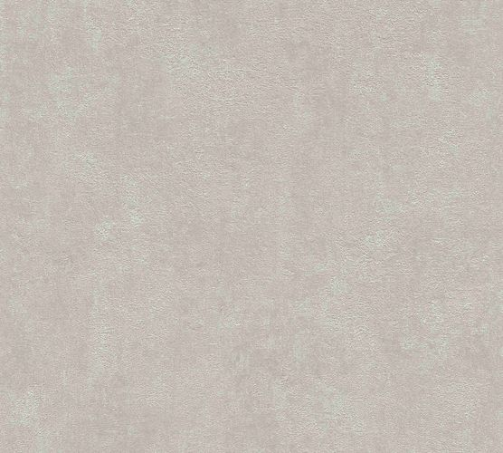 Non-woven wallpaper plain structure taupe 37418-1 online kaufen
