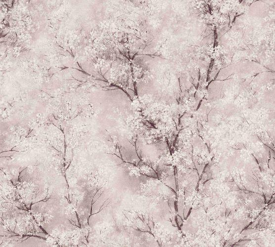 Non-woven wallpaper blossom tendrils light pink 37420-4 online kaufen