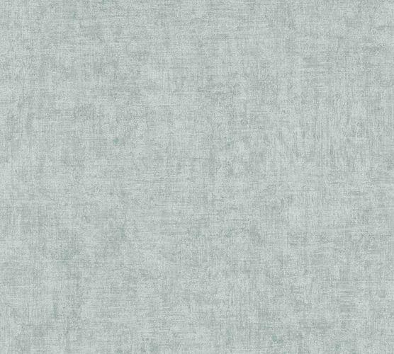 Non-woven wallpaper structure plain pastelturquoise 37423-3