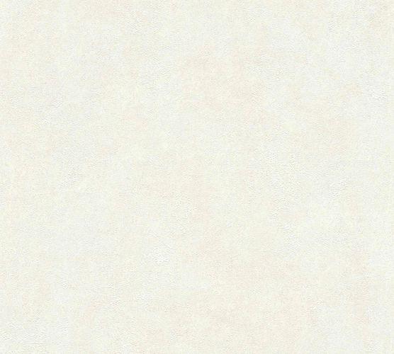 Non-woven wallpaper plain with structure cream 37425-1