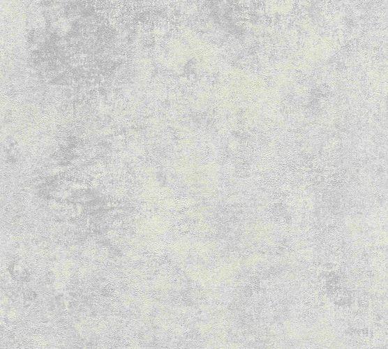 Vliestapete Uni mit Struktur cremegrau Glanz 37425-4