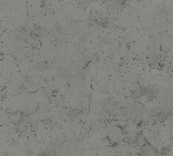 Non-woven wallpaper concrete design darkgrey 37429-1 online kaufen