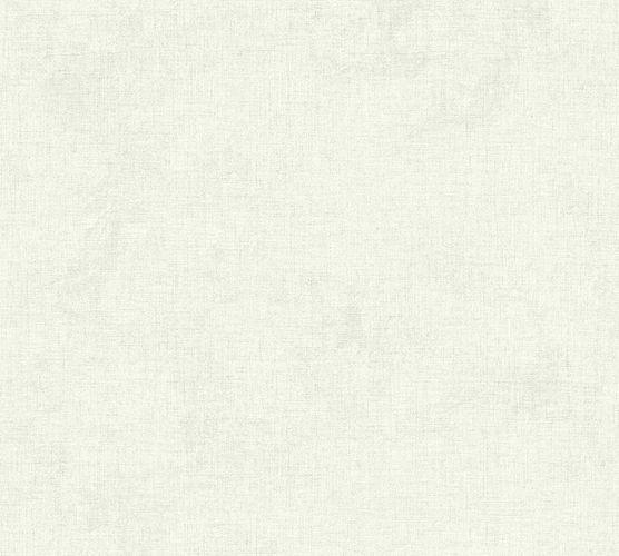 Non-woven wallpaper mottled plain white grey 37431-1