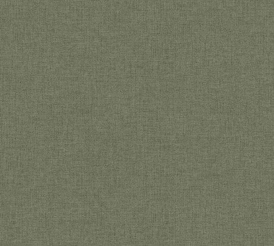 Non-woven wallpaper mottled plain green grey 37431-2 online kaufen