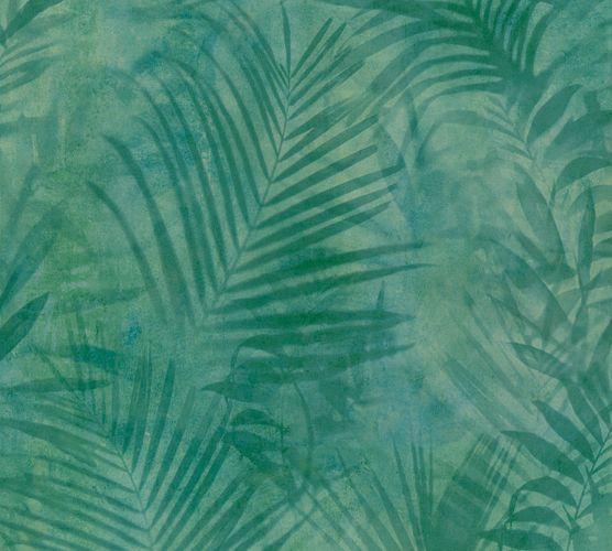 Non-woven wallpaper jungle green 37411-2