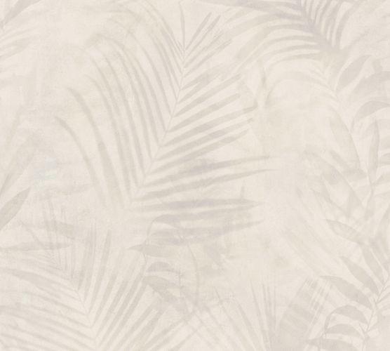 Non-woven wallpaper jungle cream 37411-3