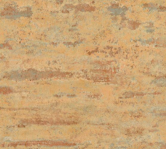 Non-woven wallpaper vintage wall orange 37415-1 online kaufen