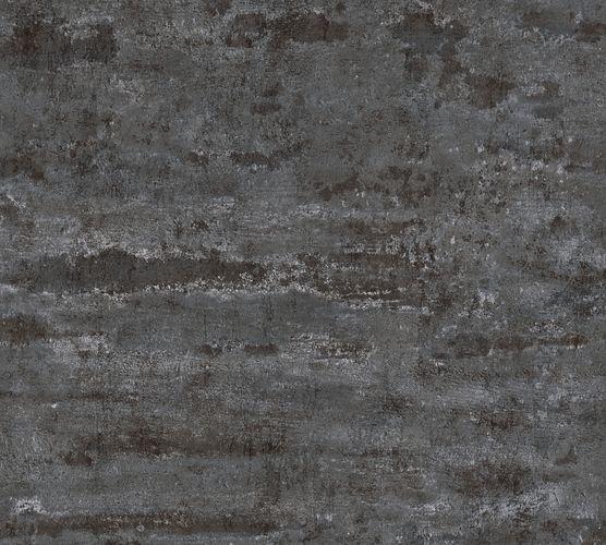 Non-woven wallpaper vintage wall black 37415-4