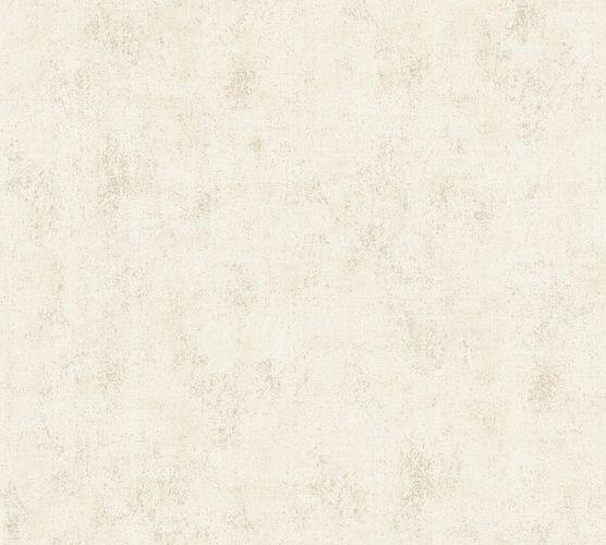 Neue Bude Vliestapete Struktur Uni beige creme 37416-1