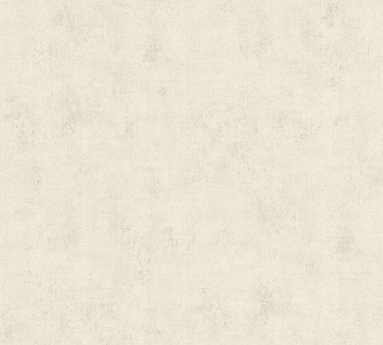 Non-woven wallpaper structured plain taupe 37416-6