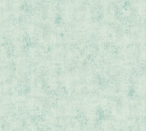 Non-woven wallpaper structured plain grey-green 37416-8