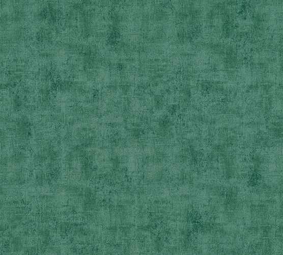 Non-woven wallpaper plain structured green 37417-3 online kaufen