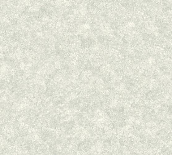 Neue Bude Vliestapete Meliert Uni silber weiß 37428-2