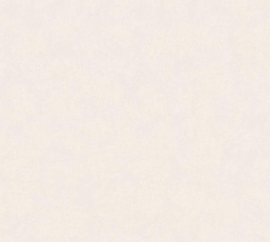 Non-woven wallpaper plain grey white 3744-24