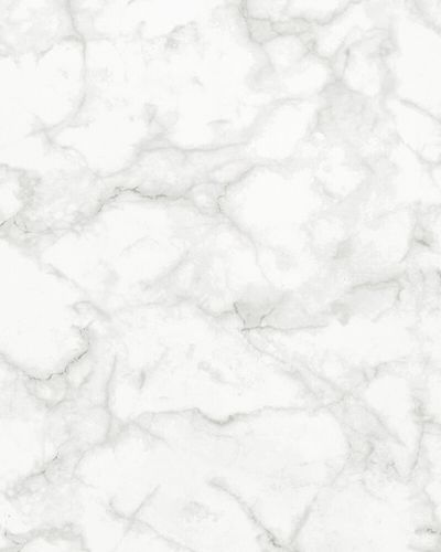 Non-woven Wallpaper Marble Look white grey 31737