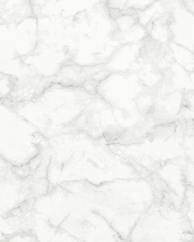 Vliestapete Marmor-Optik weiß grau Imagine 31737