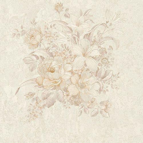 Vliestapete Blumenbouquet creme taupe 37225-4 online kaufen
