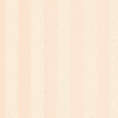 Non-woven wallpaper striped plain salmon-rose 37227-1 online kaufen