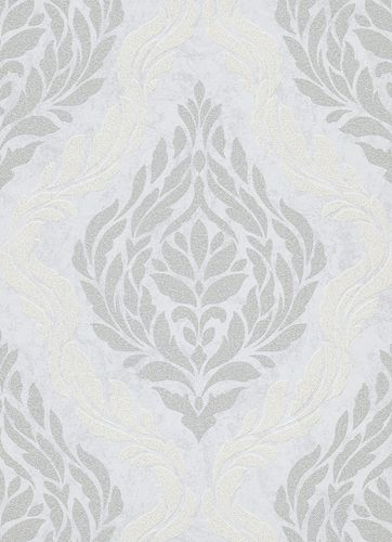Baroque ornaments non-woven wallpaper creamgrey 10060-31 online kaufen