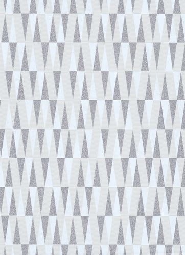 Triangle non-woven wallpaper cream beige grey 10061-14