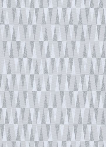 Triangle non-woven wallpaper creamgrey taupe 10061-31
