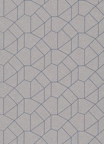 Graphic-Design non-woven wallpaper beige blue 10062-30 online kaufen