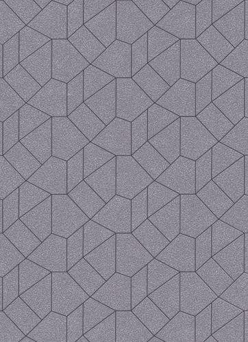 Grafik-Design Vliestapete taupe anthrazit Glanz 10062-37 online kaufen