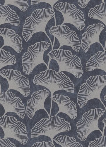 Leaves non-woven wallpaper anthracite taupe 10064-37 online kaufen