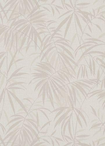 Wallpaper fern whitegrey greige beige 10067-02 online kaufen