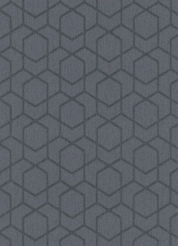 Wallpaper graphic anthracite 10068-47