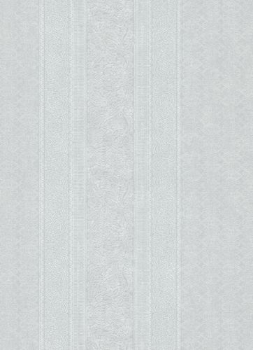 Wallpaper ornament stripes grey white 10071-31 online kaufen